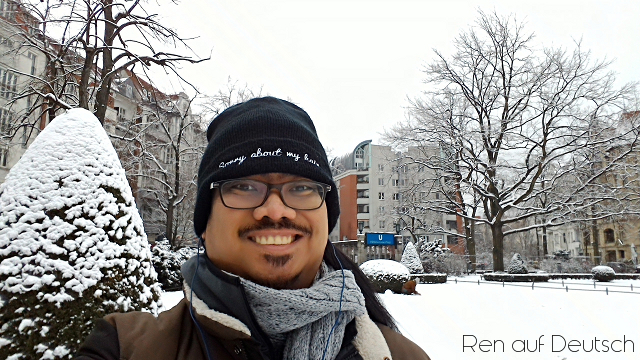 Ren in Berlin (Januar 2016)