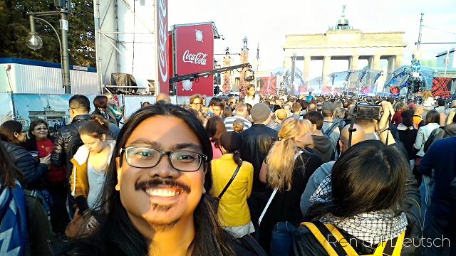 Tag der Deutschen Einheit - Brandenburger Tor, Oktober 2015